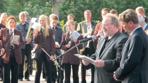 Official opening West-Lothian-Platz 2012