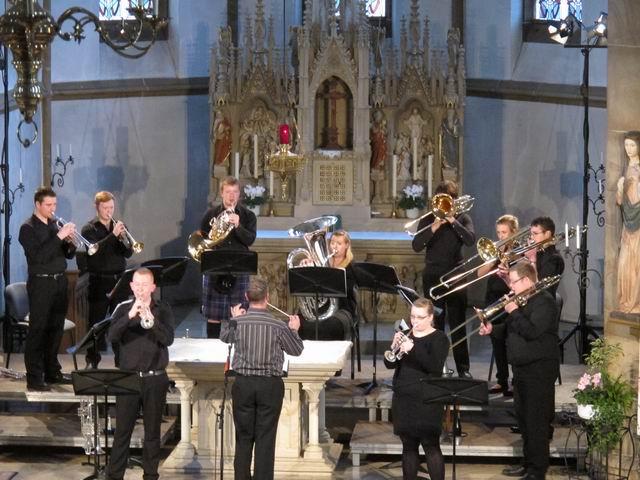 Das Ensemble beim Konzert in der St. Martinus Kirche